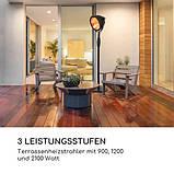 Вуличний інфрачервоний обігрівач на ніжці Blumfeldt ComfortHeat 900/1200/2100 Вт IP54 Німеччина УЦІНКА, фото 8