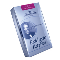 "Молотый кофе J.J.Darboven  ""Exclusivkaffee"" der Edle 250 гр"
