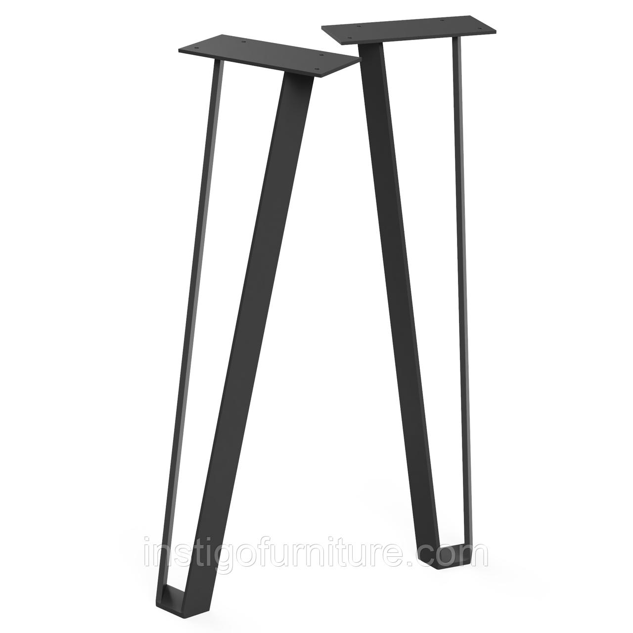 Ножка для стола из металла 224×301mm, H=730mm