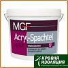 Шпаклевка финишная MGF Acryl-Spachtel, 3,5 кг.