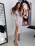 Платье Женское Вечернее с разрезом, фото 4