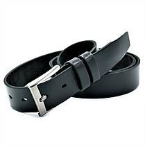 Кожаный мужской ремень Weatro Чёрный (nw-rus-35k-001), фото 2