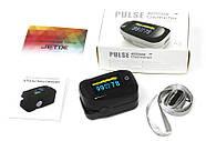 Пульсоксиметр оксиметр JETIX A2 Oximeter Pulse | Прибор для измерения пульса и кислорода в крови, фото 5