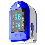 Пульсиметр оксиметр JETIX Oximeter Pulse | Прибор для измерения пульса и кислорода в крови, фото 7
