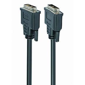 Кабель DVI-D - DVI-D видео кабель 1,8 м CC-DVI-BK-6, фото 2