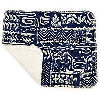 Кухонное полотенце из хлопка двухслойное Волна