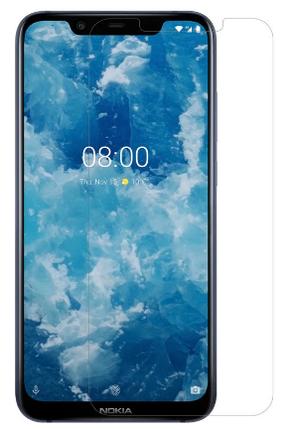 Гидрогелевая защитная пленка на Nokia 8.1 на весь экран прозрачная, фото 2