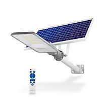 LED вуличний ліхтар автономний VIDEX 40W 5000K, фото 1
