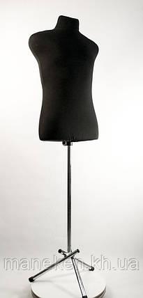 Пьер (48) в ткани (черный) для треноги, фото 2