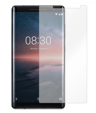 Гидрогелевая защитная пленка на Nokia 8 Sirocco на весь экран прозрачная, фото 2