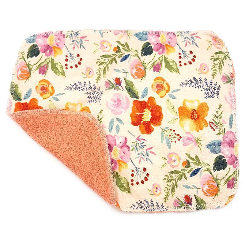 Кухонное полотенце из хлопка двухслойное Рябина