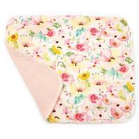 Кухонное полотенце из хлопка двухслойное Цветок