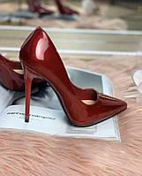 Туфли лодочки красные, фото 1