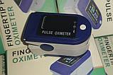 Пульсоксиметр для измерения уровня кислорода в крови, пульса  CMC 50C с цветным дисплеем., фото 3