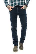Мужские зауженные джинсы от колена