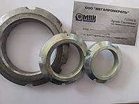 Гайка нержавеющая круглая шлицевая ГОСТ 11871-88, фото 1