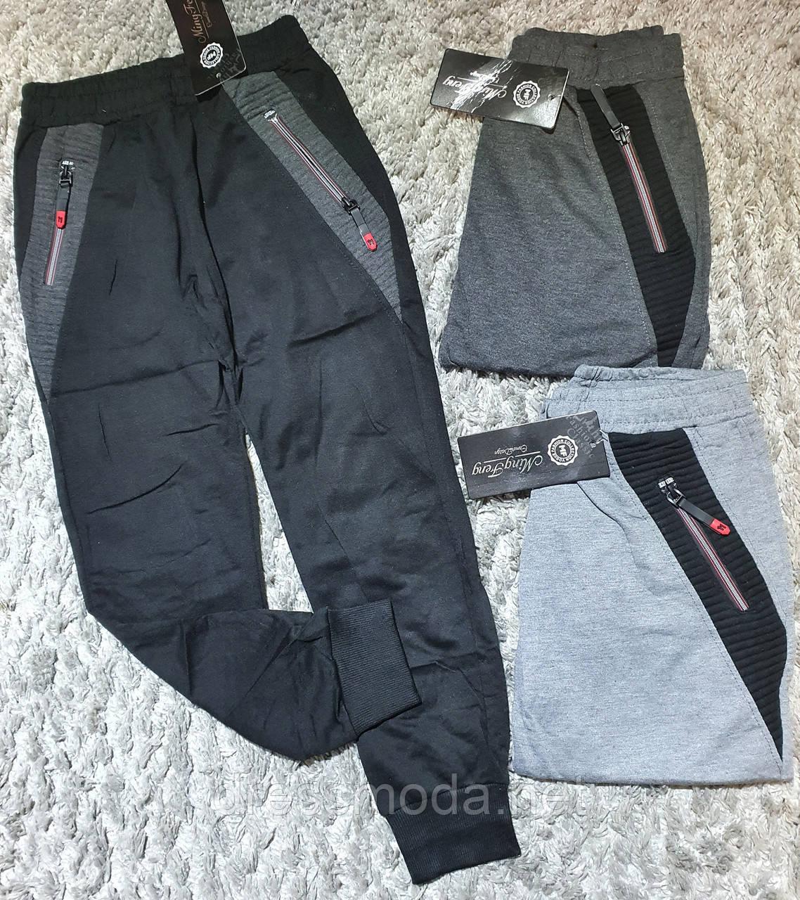 Трикотажные спортивные брюки для мальчиков Ming Feng 8-16 лет