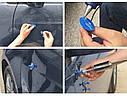 Молоток зворотній ZIRY PDR для видалення вм'ятин з комплектом насадок 18pcs blue, фото 4