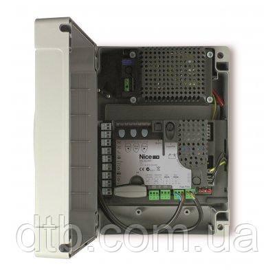 Блок управления Nice MC824H с платой MCA1 для распашных ворот
