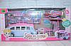 Игровой набор Автобус для девочек, 30 предметов, фигурки, в кор.