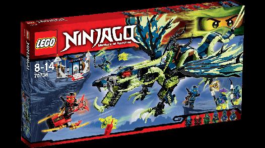 Lego 70736 Ninjago Атака дракона Морро (Конструктор Attack of the Morro Dragon)