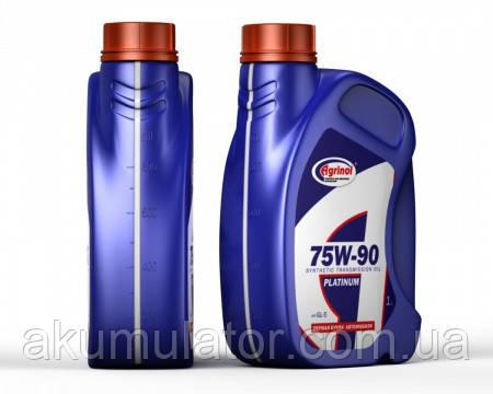 Трансмиссионное масло 75W-90 GL-5 Platinum 1л