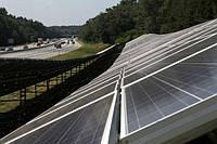 На трассе Киев-Одесса установили солнечную станцию