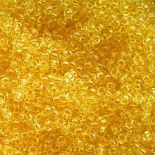 Чешский бисер Preciosa /10 для вышивания Бисер желтый прозрачный 01281