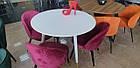 Стіл обідній круглий МДФ TM-99 Vetro Mebel ™, фото 4
