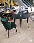 Стол обеденный круглый МДФ TM-99 Vetro Mebel™, фото 2