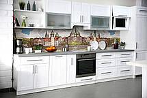 Скинали на кухню Zatarga «Крепость» 600х3000 мм виниловая 3Д наклейка кухонный фартук самоклеящаяся Z180802/2, фото 2