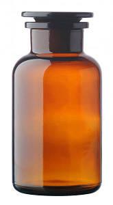Склянка для реактивов с притертой пробкой 250 мл. 1-1-250 АКГ 2.840.013 темное стекло