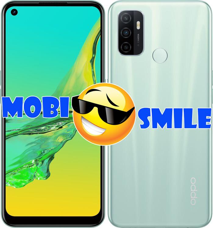 Смартфон OPPO A53 4/128Gb Mint Cream UA-UCRF Гарантия 12 месяцев