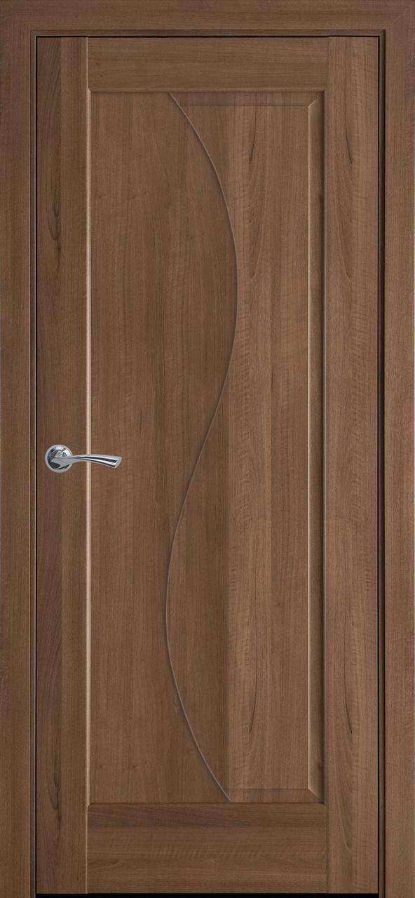 """Дверь межкомнатная """"Новый Стиль"""" модель Эскада, золотая ольха (глухое)"""