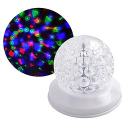 Диско лазер проектор W-118 RGB, 220V, праздничное освещение, диско проектор, диско шар