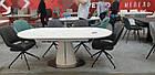 Стіл обідній розкладний МДФ + кераміка TML-800 Vetro Mebel ™, фото 4