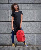 Червоний гаманець жіночий натуральна шкіра