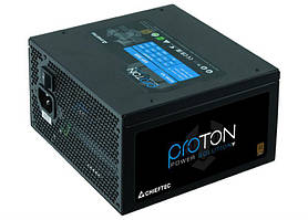 Блок живлення Chieftec BDF-500S Proton, ATX 2.3, APFC, 12cm fan, Bronze, RTL, фото 3