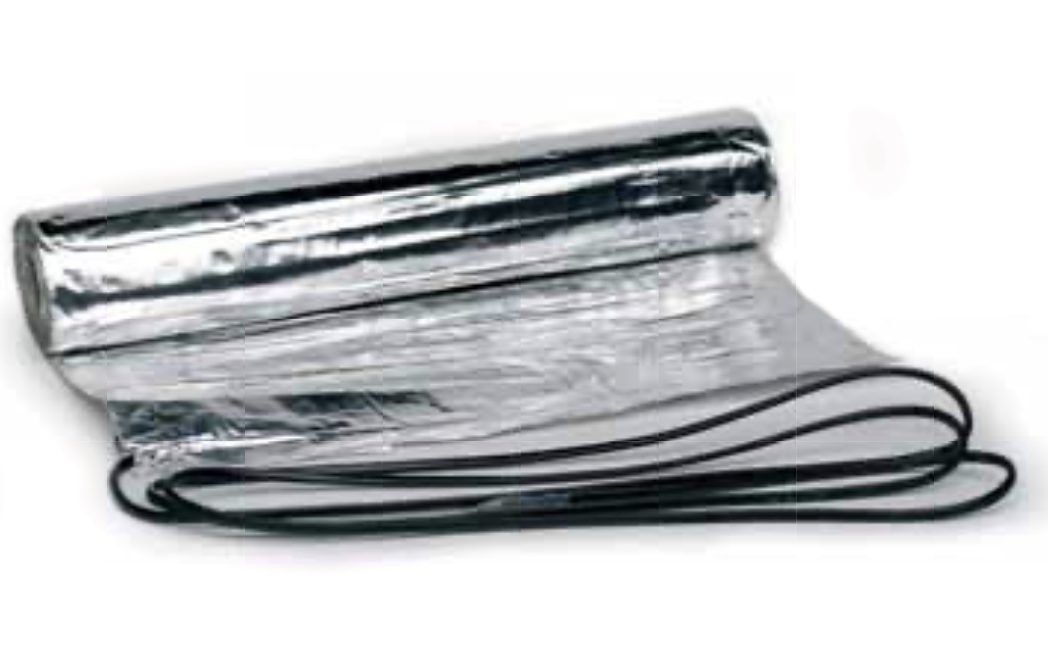 CATE-80 алюминиевый нагревательный мат 640W, 8 m² (0,5x16m)
