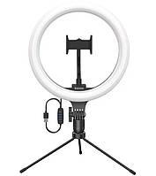 Держатель с кольцевым освещением Baseus CRZB10-A01, черный