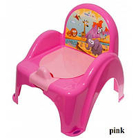 Горшок-кресло муз. Tega Safari PO-041 pink