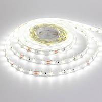 Led лента светодиодная 12В белая smd2835 60LED/m IP20 (лед лента)