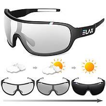 Спортивные фотохромные очки UV400 Черный
