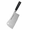 Кухонний топірець Samura Mo-V для м'яса 180 мм Black (SM-0040)