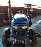 Минитрактор XТ-240TPKX BLUE, фото 3
