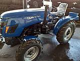 Минитрактор XТ-240TPKX BLUE, фото 2