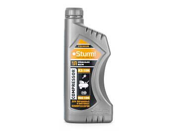 Масло для компрессоров, 1л Sturm MOS-K3-10N (ящик 9 шт)