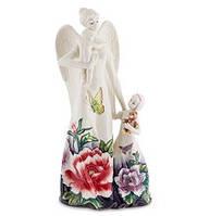 """Фарфоровая статуэтка """"Ангел и дети"""" (Pavone) JP-247/33"""