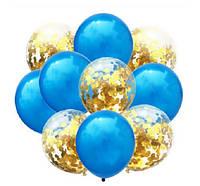 Набор воздушных шаров 044 (30 см - 10 шт)