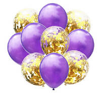 Набор воздушных шаров 045 (30 см - 10 шт)